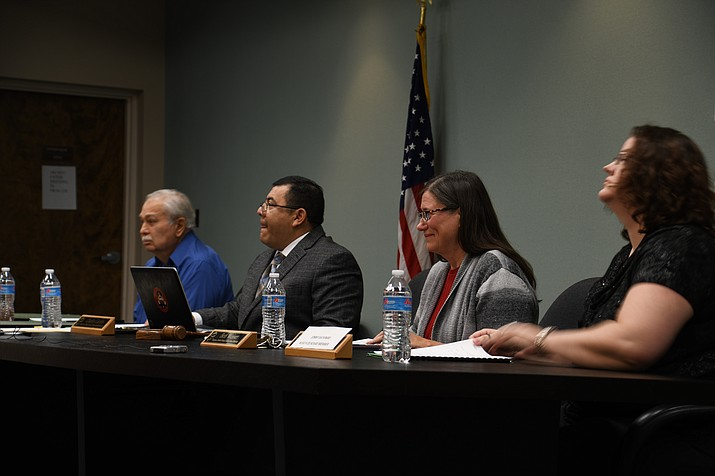 The Kingman Unified School District board will discuss Palo Christi and the rezoning of school enrollment zones at its monthly meeting at 5:30 p.m. Tuesday at 3033 MacDonald Ave. (Daily Miner file photo)