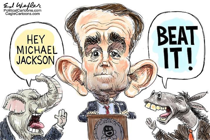 Editorial cartoon (1): Feb. 11, 2019