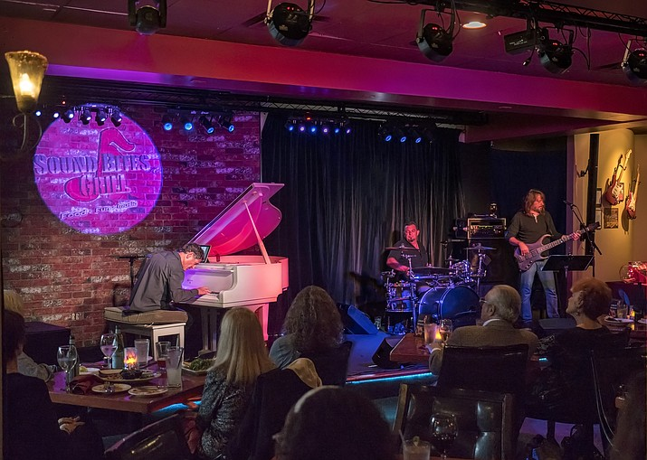 Enjoy a special dinner and show with Jazz pianist Louis Landon, bassist Troy Perkins and drummer Eddie Barattini on Valentine's evening. Louis is a composer, Steinway artist and Pianist for Peace, formerly of New York and currently living in Sedona.