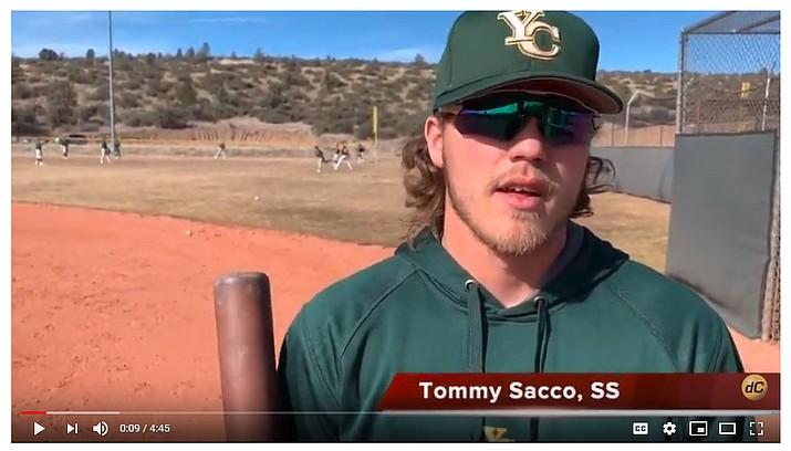 Watch: 2019 Yavapai College baseball season preview video. (Brian M. Bergner Jr./Courier)
