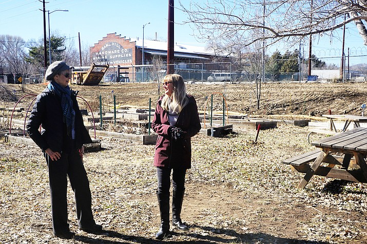 Over the years, the Prescott Community Garden produced successful crops of tomatoes, squash, peas, beans, and other produce. Organizers say 21 gardening spaces were available, and about three-fourths of those were rented this past year by individuals and organizations. (Cindy Barks/Courier)