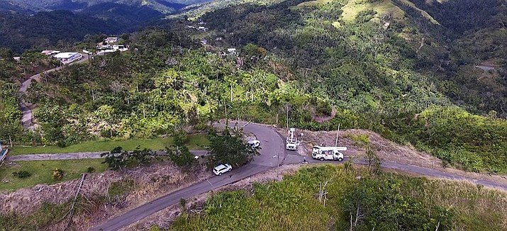 """""""We've done projects for federal, state and local agencies from the West Coast all the way to Puerto Rico,"""" Charles Black said. """"We did a lot during Hurricane Irma. They had a lot of roads destroyed, so with the data we were providing them, they could figure out the best avenue of attack to help people."""" (Photo courtesy Draco Aerial Solutions)"""