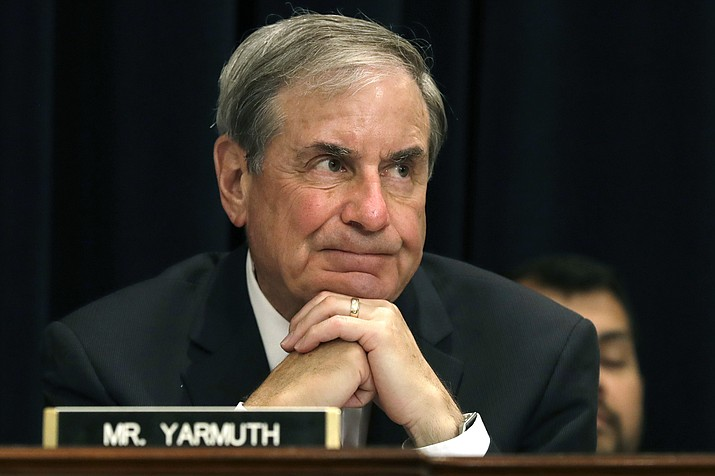 In this May 24, 2017 file photo, Rep. John Yarmuth, D-Ky., listens to testimony on Capitol Hill in Washington. (Jacquelyn Martin/AP, file)