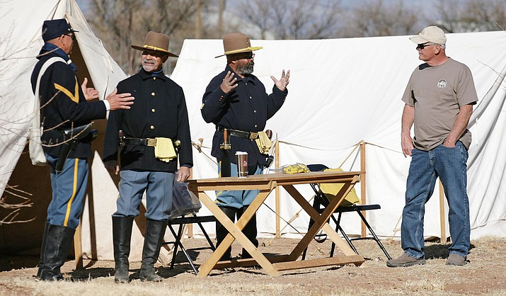 With living history presenters, ceremonies, a Dutch oven demonstration and 1860-era base ball, the 13th annual Buffalo Soldiers event will be held from 9 a.m. until 5 p.m. Saturday, Feb. 16 at Fort Verde State Historic Park. VVN/Bill Helm