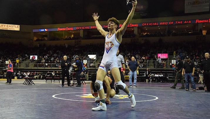Tinghitella wins second straight state championship