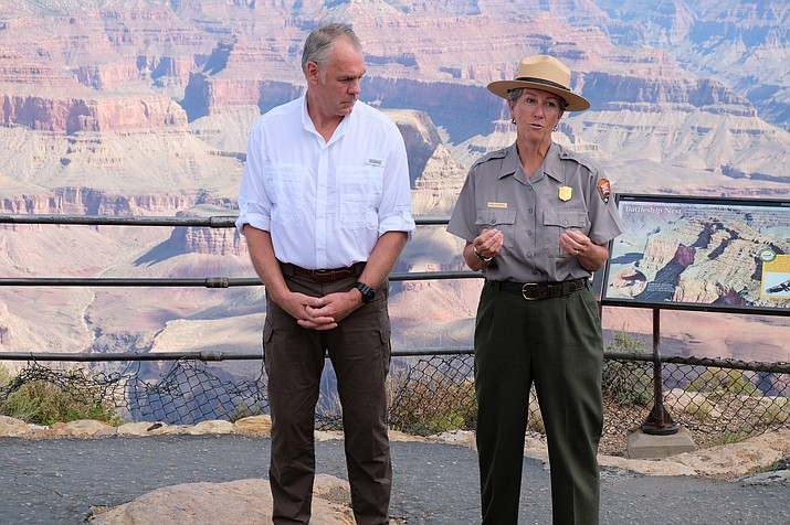 Grand Canyon Superintendent Chris Lehnertz is returning to the park after an OIG investigation initiated in October cleared her of any wrongdoing. (Loretta Yerian/WGCN)