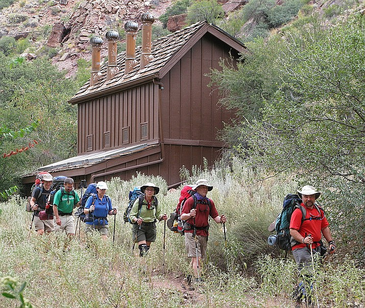 Backcountry permits are required for overnight hikes in the inner canyon. (Photo/NPS)