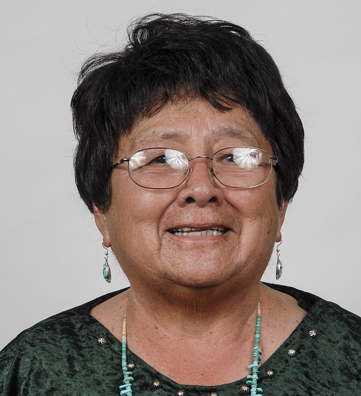 Martha Jackson passed away Jan. 16 at Flagstaff Medical Center. Jackson was from the Siba Delkai, Ariz., area and taught Navajo language and culture at the college. She was one of the first students, graduates and teachers at Diné College. (Photo/Dine College)