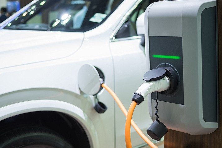 Yavapai Lodge has installed electric vehicle chargers for both guests and visitors in the last four months. (Stock photo)