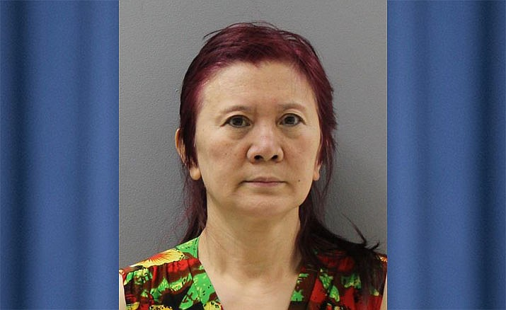 Xia Du, 59, of Prescott was arrested Wednesday, Feb. 13, 2019, by officers from the Prescott Police Department after a search warrant was executed on the 600 block of Miller Valley Road. She was arrested for allegedly operating a house of prostitution out of a local massage parlor. (Prescott PD/Courtesy)