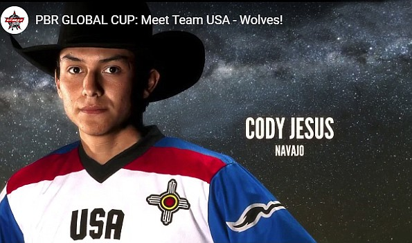 'The Olympics of bull riding' has its first All-Native American team