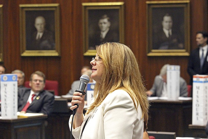 State Rep. Kelly Townsend. (Bob Christie/AP, file)