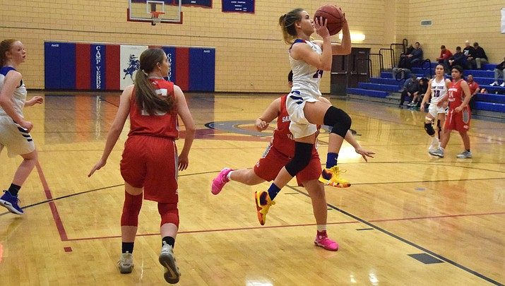 Camp Verde girls hoops rolls into state tournament