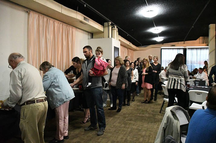 About 130 Kingmanites joined together to celebrate the 2018 Readers' Choice winners held at the Grand Events Center. (Photo by Vanessa Espinoza/Daily Miner)