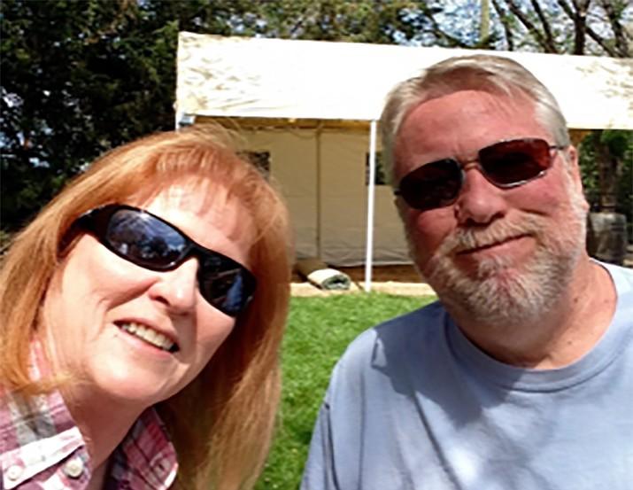 Buckham and wife Diana