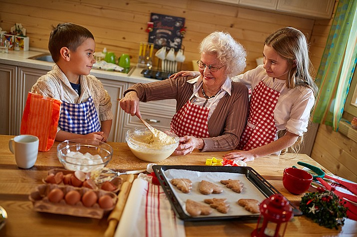 If you have been blessed with grandchildren and great-grandchildren, treasure those special moments. The times you share with them will someday be all they have left of you. (Adobe Images)