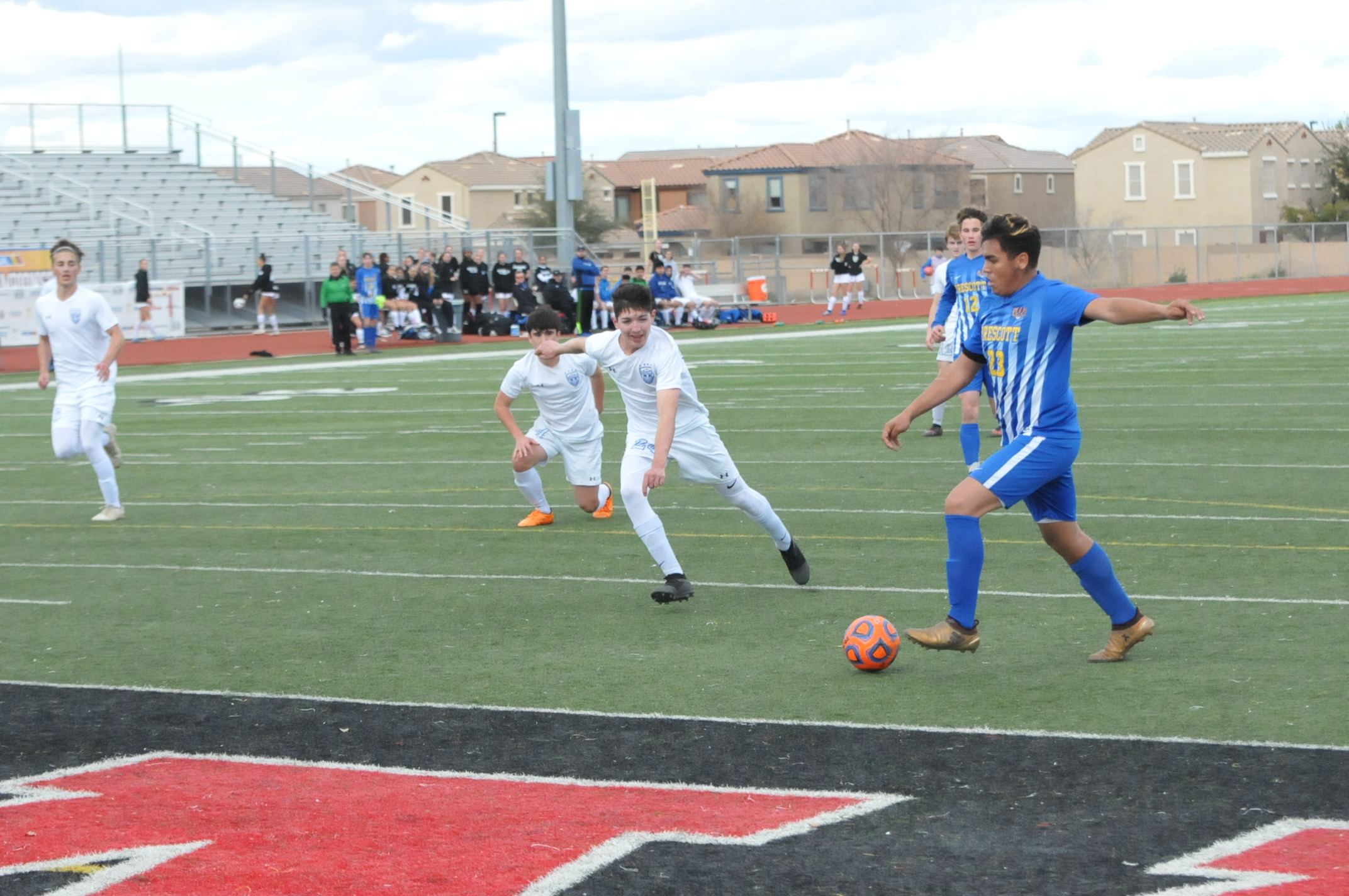 Prescott's boys soccer team edges Catalina Foothills, advances to state title match for 1st time