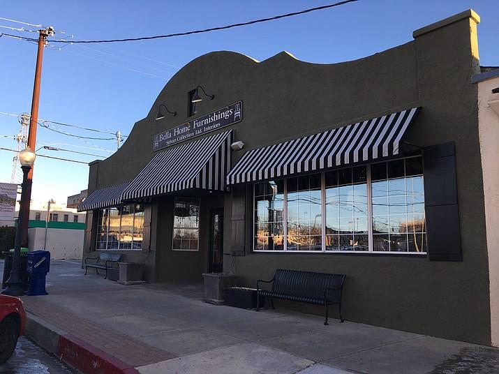 Bella Home Furnishings in downtown Prescott. (Matt Van Doren/Courier)