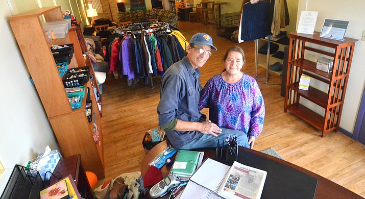 Wing and Laurie walk the talk when it comes to helping the homeless in Sedona. VVN/Vyto Starinskas