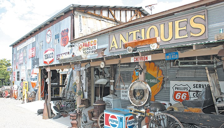 Larry's Antique & Things. VVN file photo