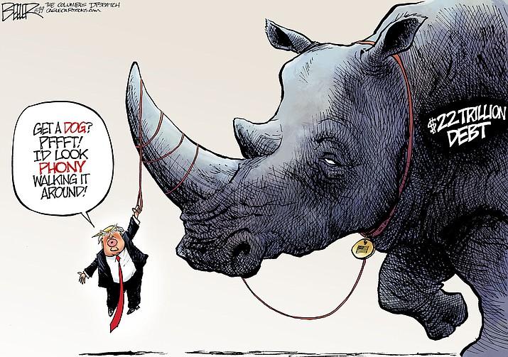 Editorial cartoon (2): Feb. 18, 2019