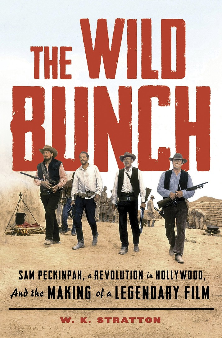 "This cover image released by Bloomsbury shows ""The Wild Bunch: Sam Peckinpah, a Revolution in Hollywood, and the Making of a Legendary Film,"" by W.K. Stratton. (Bloomsbury via AP)"