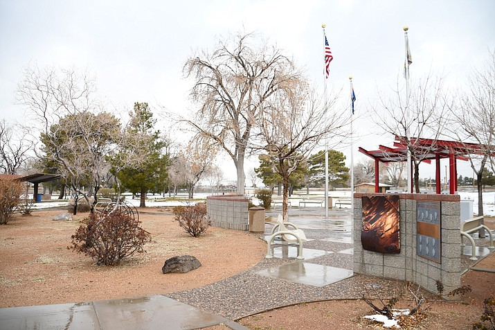 The City Parks, Aquatics, Recreation and Golf Commission will review plans for a playground at Firefighter's Memorial Park at its Wednesday meeting. (Photo by Vanessa Espinoza/Daily Miner)