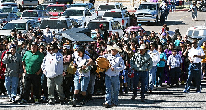 Each year, the Yavapai-Apache Nation remembers its Exodus of 1875 with a spirit run, blessings, cultural performances and food. VVN/Bill Helm