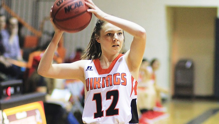 Lady Vikes stopped in first round at state tourney