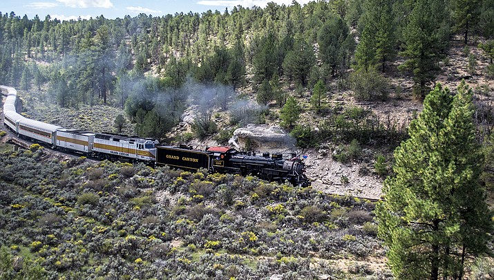 The Iron Horse once again gallops to the Grand Canyon