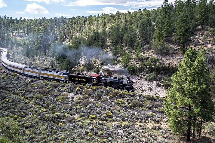 Grand Canyon Railway has announced its 2019 Steam Engine schedule. (Photo/Grand Canyon Railway)
