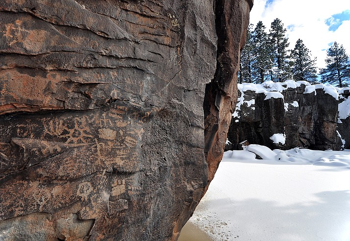 Keyhole Sink interpretive site is one of several offered excursions by the Kaibab National Forest as part of its Arizona Archaeology and Heritage Awareness Month. (Photo/U.S. Forest Service)