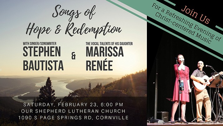 Our Shepherd Lutheran Church presents concert by Stephen Bautista