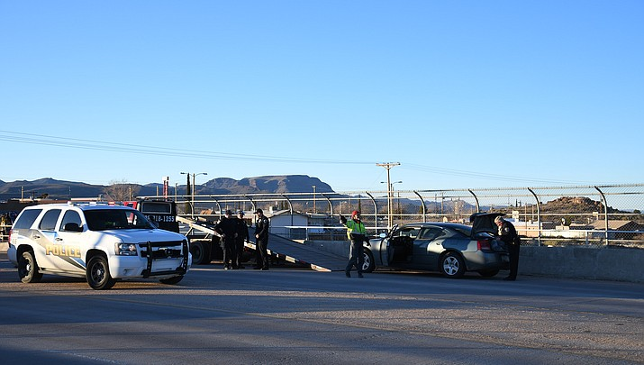 Hualapai Mountain Road traffic diverted, teenagers arrested for disorderly conduct