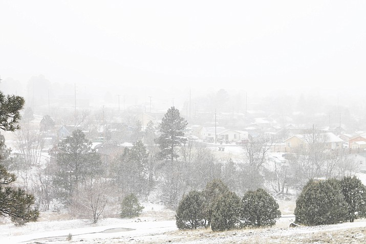 Coconino County Emergency Management plans to active an Emergency Operations Center Feb. 21-Feb. 22 in anticipation of a heavy winter snowstorm. (Loretta Yerian/WGCN)