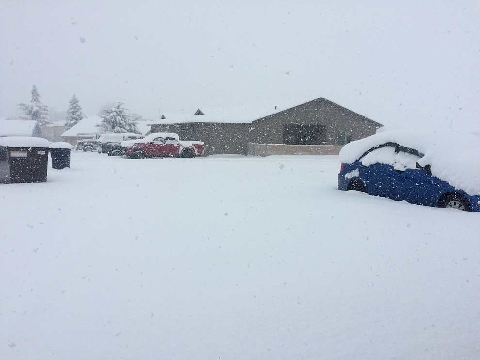 Prescott Valley shortly after noon. (Jason Wheeler/Courier)