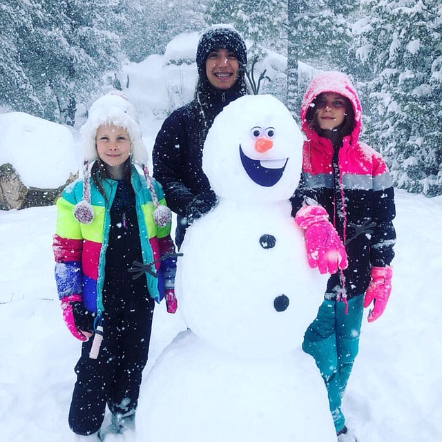 Kids being kids on a snow day! Prescott, Arizona (Jen Lucas)