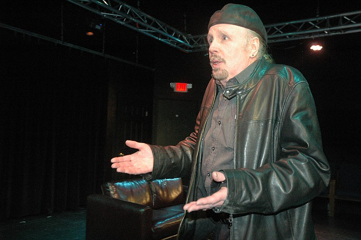 """Walton Mendelson performs in Yasmina Reza's """"Art"""" at Stage Too! The play is directed by Paul Epoch. (Jason Wheeler/Courier)"""