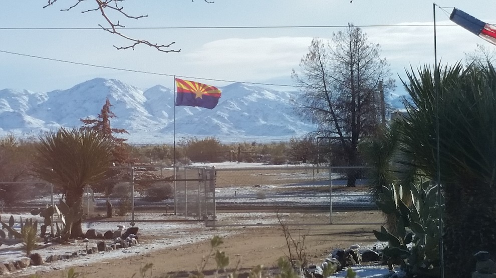 Hualapai Mountains. (Photo submitted by Kathy Wood)
