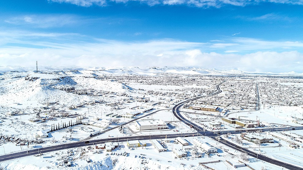 Snowy Kingman. (Photo submitted by Michael Chan)