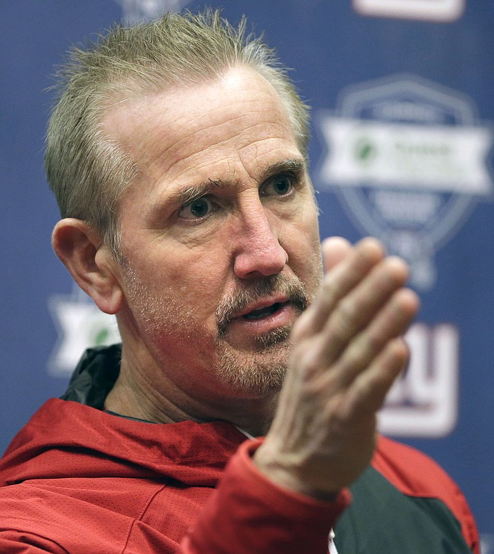The Kansas City Chiefs have turned to Steve Spagnuolo to shore up their soft defense, and the former Rams and Giants head coach knows that it will be a process. (Seth Wenig/AP, File)