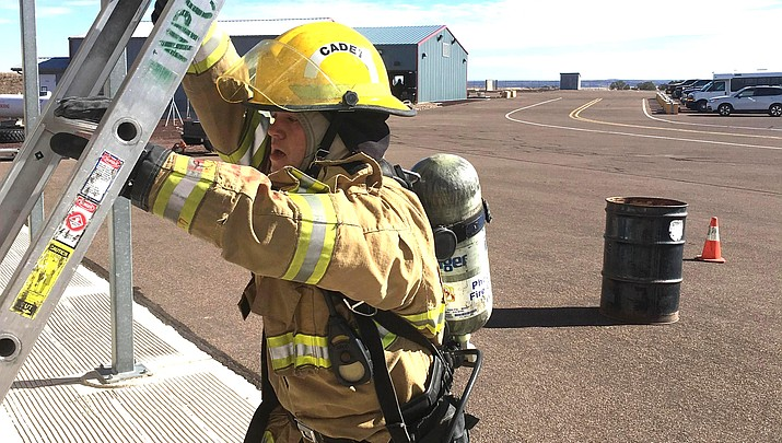 Four Valley Academy fire science students qualify for April state competition