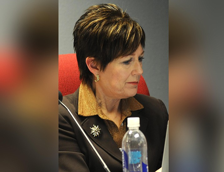 """Rep. Nancy Barto R-Phoenix, the sponsor of all three bills, said she's not necessarily opposed to vaccines. """"These are not, in my view, anti-vaccine bills,'' she said. """"They are discussions about fundamental individual rights.'' (Capitol Media Services 2019 file photo by Howard Fischer)"""