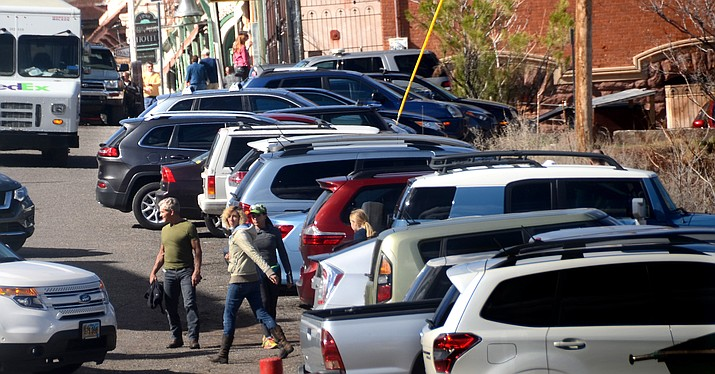 Jerome will receive $28,000 from the Freeport-McMoRan Copper & Gold Foundation for parking improvements in the town.The money is meant to go toward the installation of a curb and gutter along the Main Street parking area as well as a concrete island along Hull Avenue. VVN/Vyto Starinskas