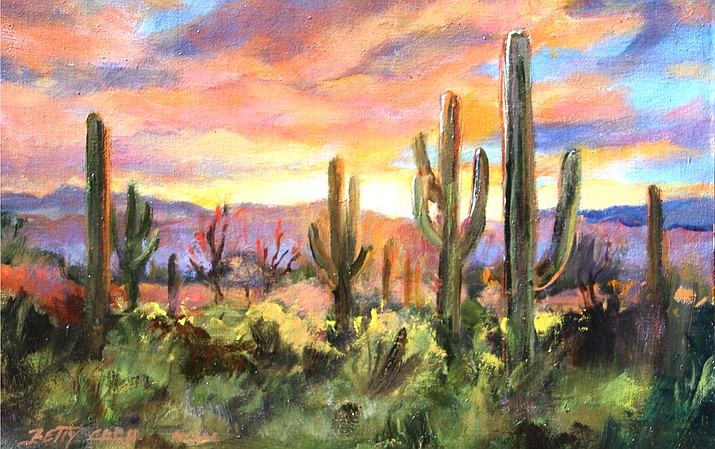 Desert Colors by Betty Carr.
