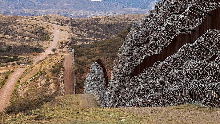 A group of former U.S. national security officials is set to release a statement arguing there is no justification for President Donald Trump to use a national emergency declaration to fund a wall along the U.S.-Mexico border. (U.S. Customs and Border Protection photo by Robert Bushell)