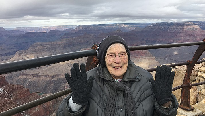 Grand Canyon Conservancy swears in 103-year-old Junior Ranger Rose Torphy