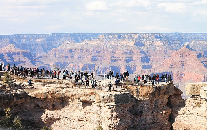 Grand Canyon celebrates its 100th anniversary as a national park today, Feb. 26. (Loretta Yerian/WGCN)