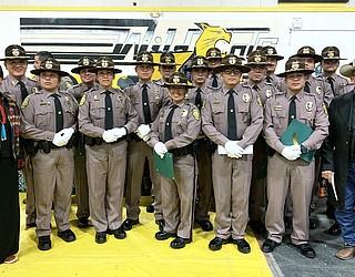 Navajo Police Academy graduates 16 police officers   Navajo