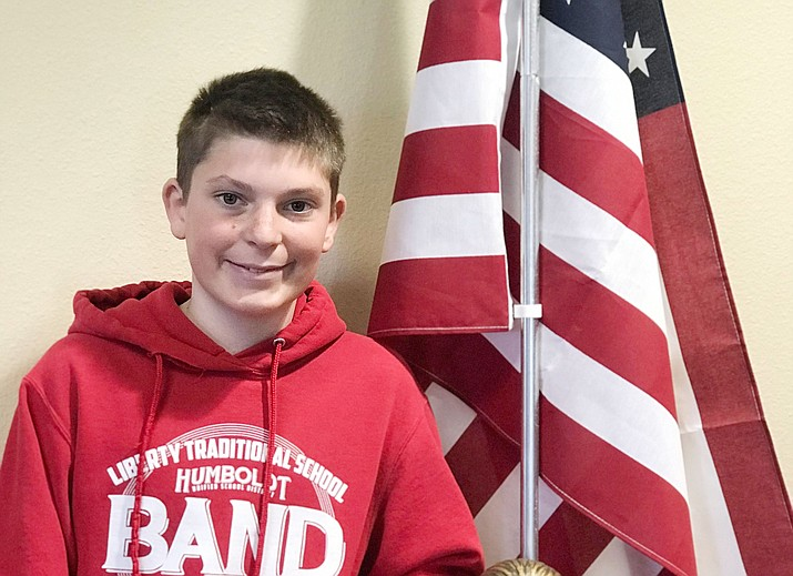 Cade from Liberty Traditional School. (HUSD/Courtesy)
